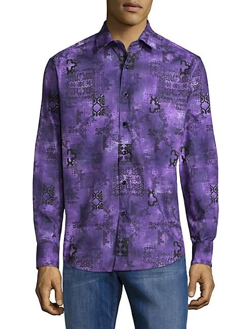 Estuary Cotton Button-Down Shirt