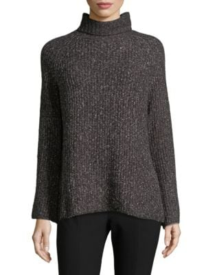 John & Jenn Ribbed Highneck Sweater