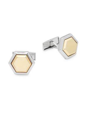 Hickey Freeman  Geometric Cuff Links