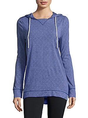 Hooded Performance Top
