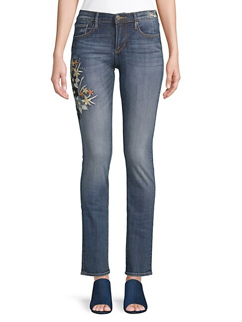 DRIFTWOOD   Audrey Straight Jeans   Goxip