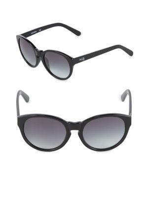 Aqs Gradient 53MM Round Sunglasses