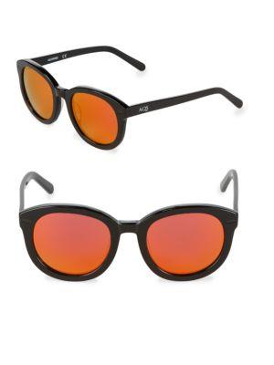 Aqs 51MM Oval Sunglasses