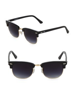 Aqs Tinted 51MM Round Sunglasses