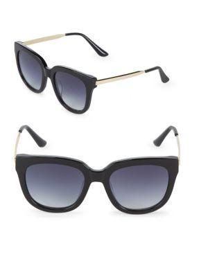 Aqs Gradient 55MM Square Sunglasses