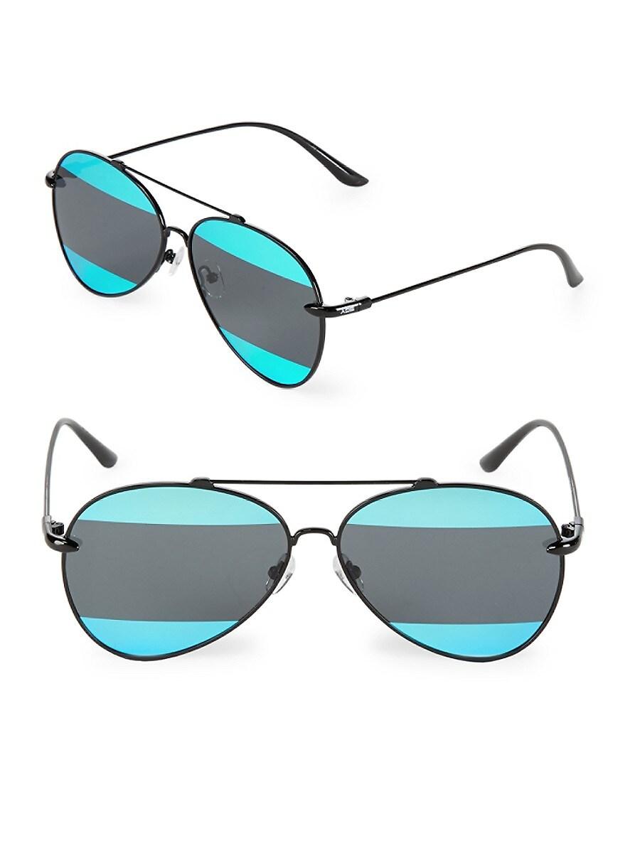 Women's 60MM Aviator Sunglasses