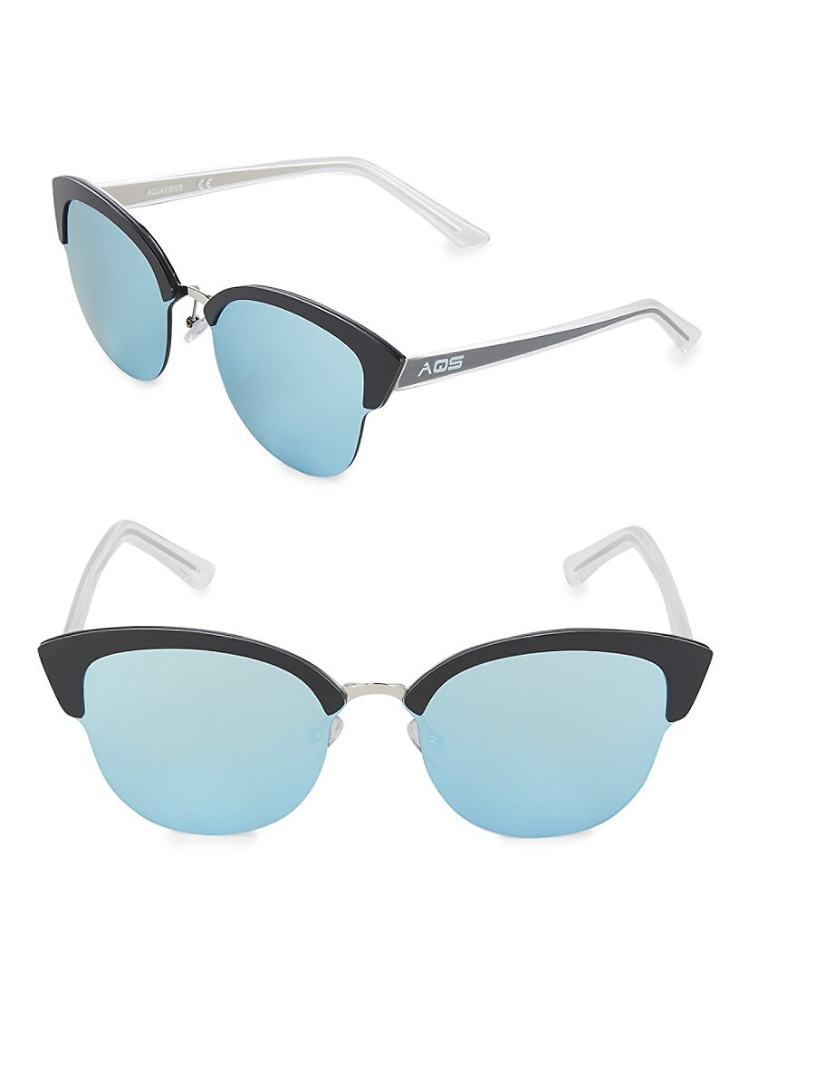 Women's Tinted 70MM Clubmaster Sunglasses