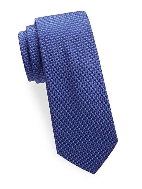 Weave Silk Tie