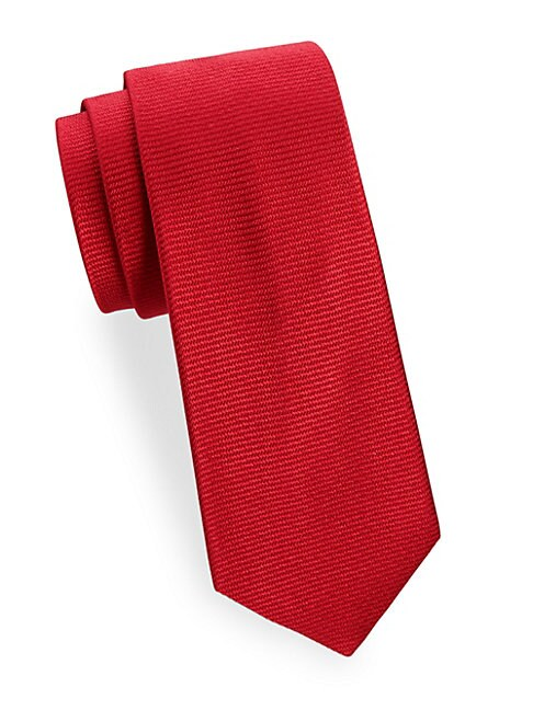 Tonal Patterned Silk Tie