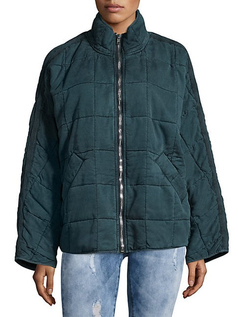 Dolman Quilted Jacket