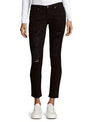 Robin's Jean Distressed Skinny Jeans