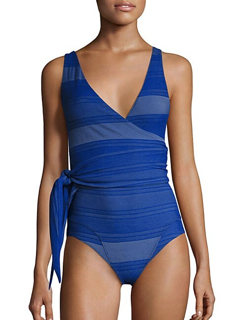 Dree Louise Striped Maillot