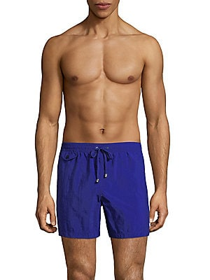 Elasticized Swim Trunks