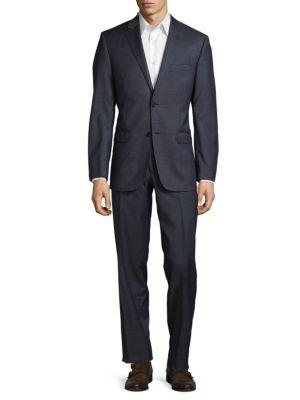 Calvin Klein Wools ULTRAFLEX SLIM-FIT WOOL SUIT