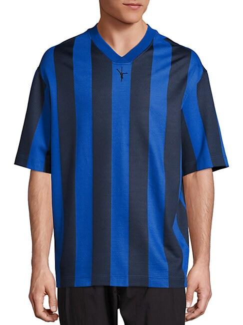 Striped Soccer Jersey