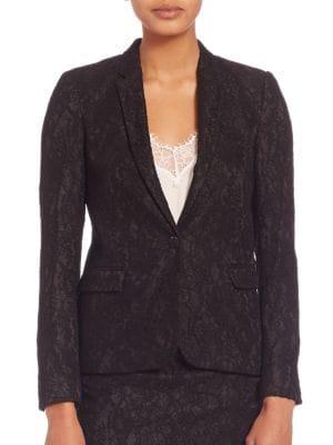 The Kooples Jackets Jewel Buttoned Lace Jacket