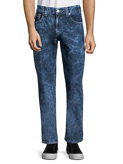 646ce8d5477 True Religion Straight-Leg Flap-Pocket Jeans ...