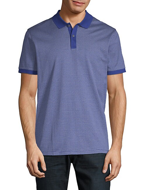 Parlay Striped Polo Tee