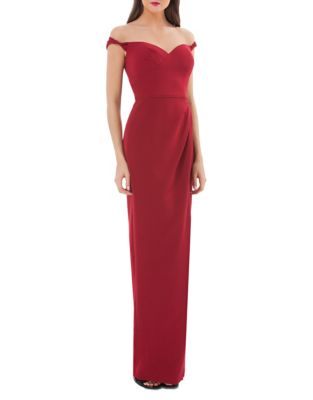 Js Collections  Sweetheart Off-the-Shoulder Gown