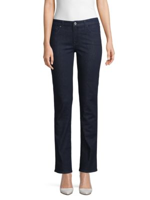 Kimmie Straight-Leg Jeans, Blue Black River in Davenport