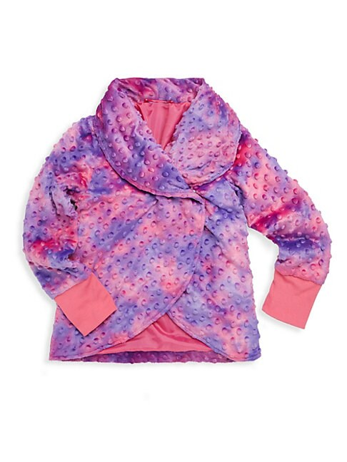 Little Girl's & Girl's Tie-Dye Bubble Top