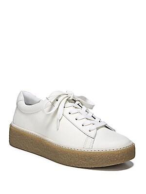 a503de7d8d4 Vince - Neela Lace-Up Leather Sneakers - saksoff5th.com