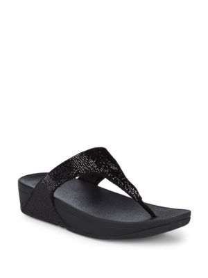 FITFLOP Electra™ Micro Toe Post, Black