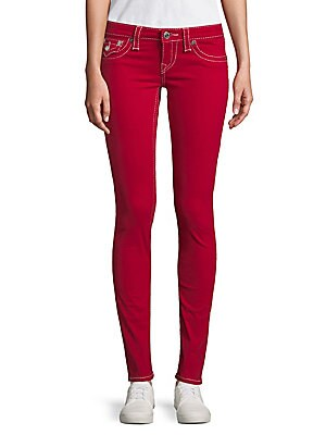 Skinny Flap Jeans