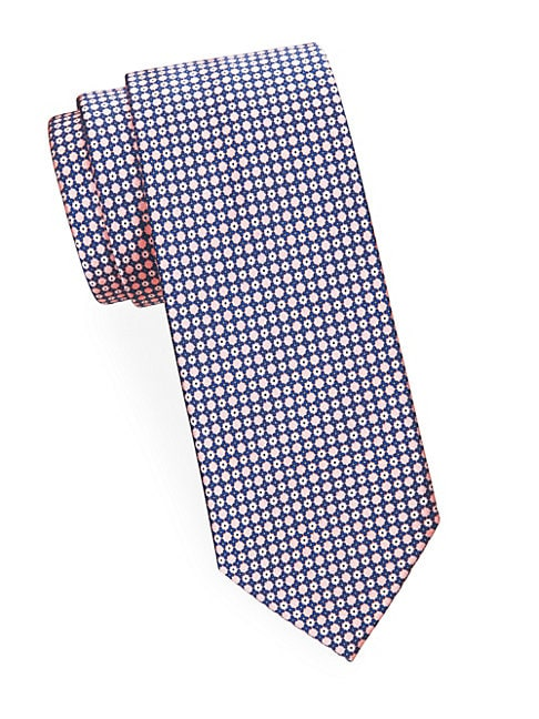 Mini Diamond Silk Tie