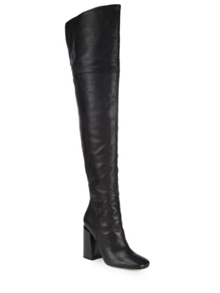 Jessica Over The Knee Leather Boots by Sigerson Morrison