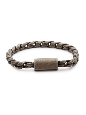 Saks Fifth Avenue  Stainless Steel Chain Bracelet