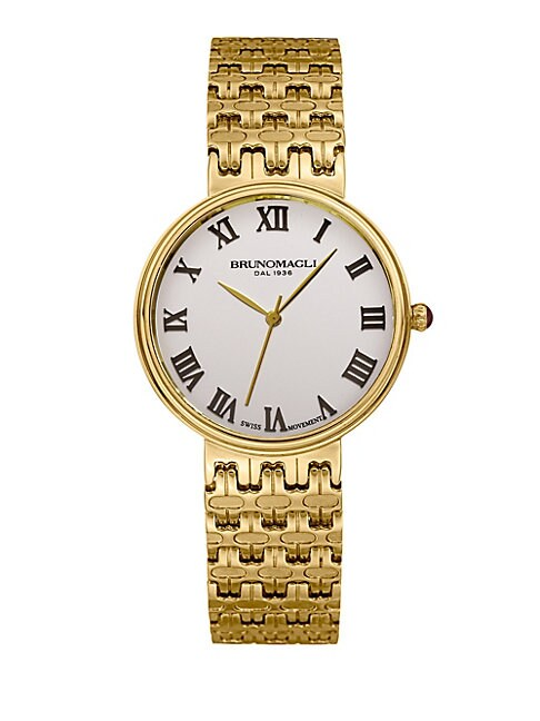 Isabella Stainless Steel Swiss Quartz Bracelet Analog Watch