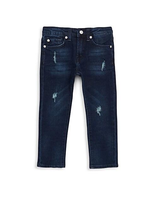 Little Boy's Ripped Jeans