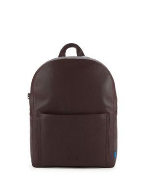 Uri Minkoff Top Zip Leather Backpack