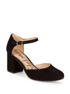 f9b5accf8bee87 Sam Edelman Clover Ankle-Strap Pumps In Black