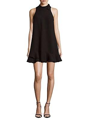 Ruffled Sleeveless Dress