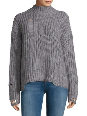 Ppla  Distressed Sweater