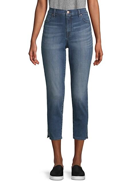 J BRAND | Alana High-Rise Crop Jeans | Goxip