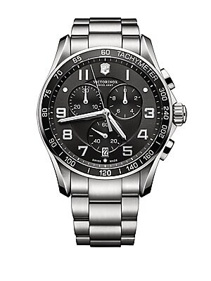 Mens Classic XLS Stainless Steel Chronograph Watch