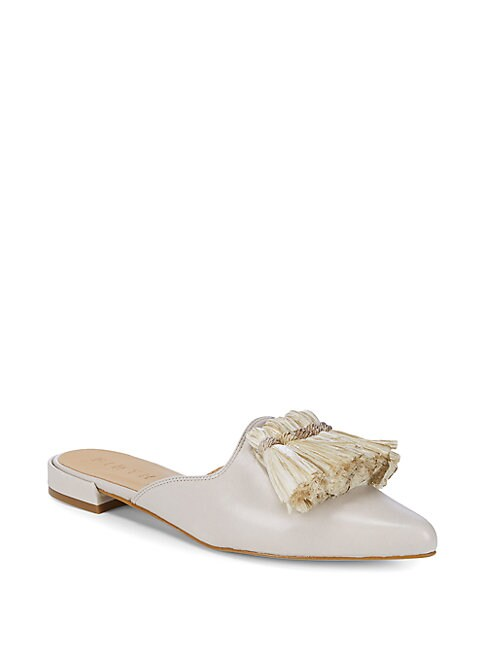 FIRTH | Tassle Leather Mules | Goxip