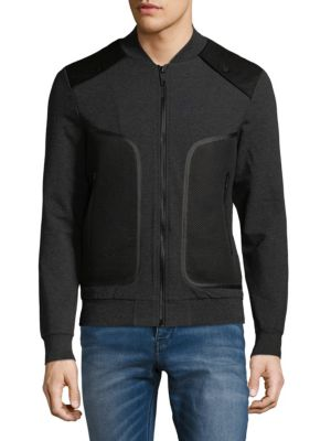 Antony Morato  NET POCKET FLEECE JACKET
