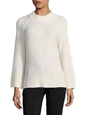 Flare-Sleeve Sweater