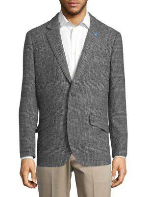 Tailorbyrd  Plaid Suit Jacket