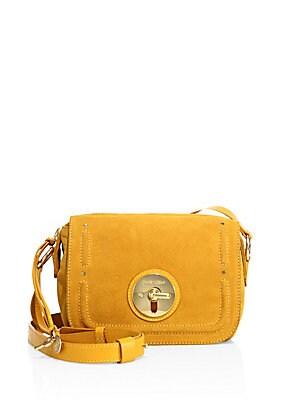 Lois Suede Camera Bag