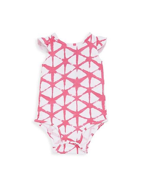 Baby's Flutter-Sleeve Bodysuit