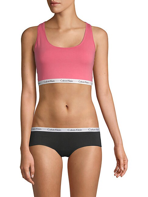 Classic Stretch-Cotton Sports Bra