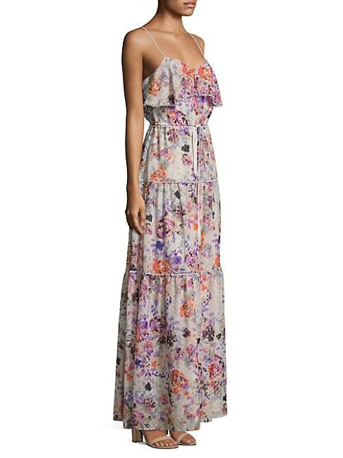 Rosy Dream Barada Maxi Dress
