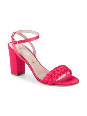 Aperlai Braided Heel Sandals