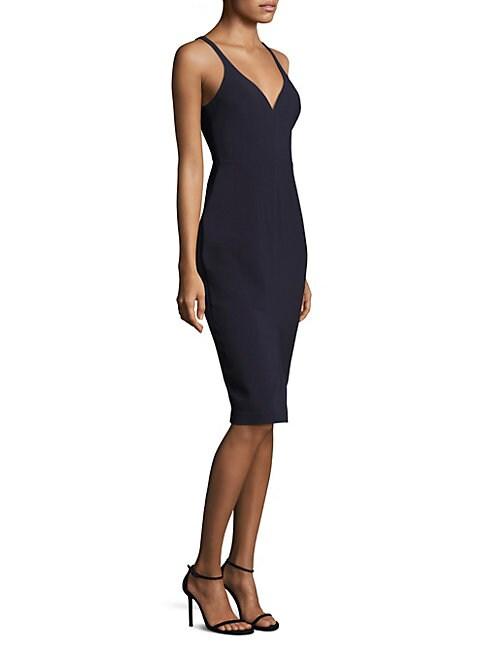 Corley V-Neck Sheath Dress