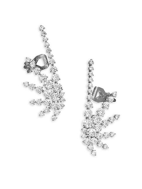 Crystal Crawler Earrings